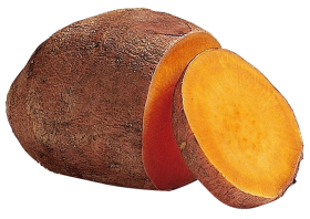Sweet Potato Slice PNG