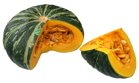 Sweet Pumpkin Slice PNG