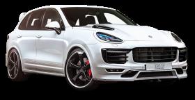 Techart Porsche Cayenne White Car PNG