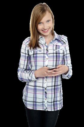 Teenage Girl PNG