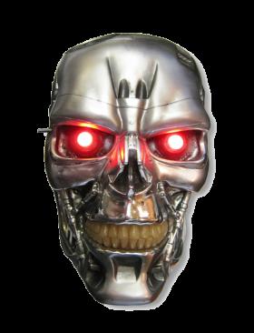 Terminator Skull / Head PNG