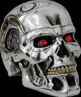 Terminator Skull PNG