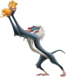 The Lion King  Rafiki PNG
