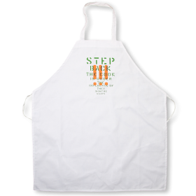 The Step Back Apron PNG