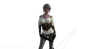 The Witcher 3 Ciri PNG
