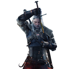 The Witcher Geralt PNG