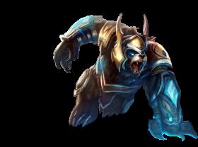 Thunder Lord Volibear Skin PNG