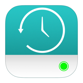 Time Machine Disk Icon iOS 7 PNG