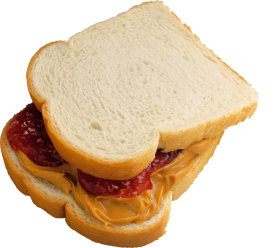 Toast Salmi Mustard PNG