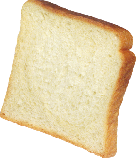 Toast white PNG
