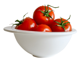 Tomato In Bowl PNG