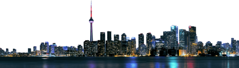 Toronto City Skyline PNG