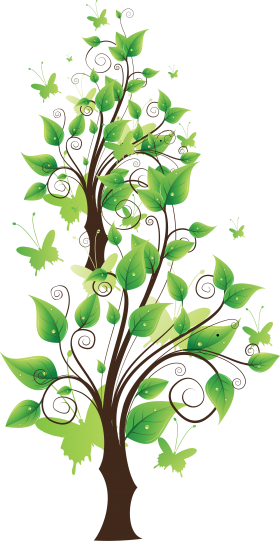 Fairy Leaf Tree PNG