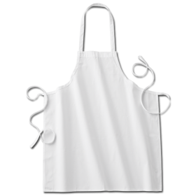 Twinklebelle White Fabric kids'chef Apron PNG