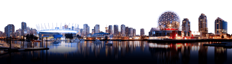 Vancouver City Skyline PNG