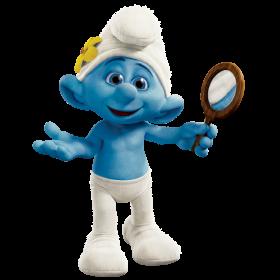Vanity Smurf PNG