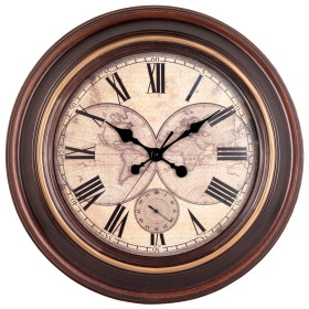 Vintage Wall Clock PNG