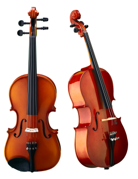 Violin & Bow PNG