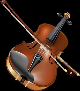 Violin  & Bow PNG