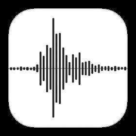 Voice Memos Icon PNG