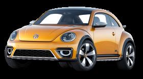 Volkswagen Beetle Dune Orange Car PNG