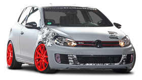 Volkswagen Golf VI GTI Car PNG