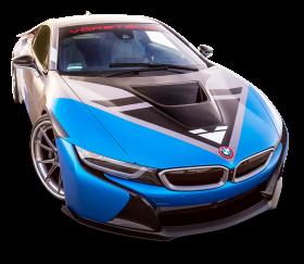 Vorsteiner BMW i8 VR E Blue Car PNG