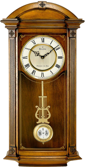 Wall Bell Clock PNG