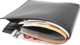 Wallet With Money PNG