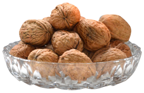 Walnut on Bowl PNG