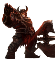 Warmonger Sion Skin PNG