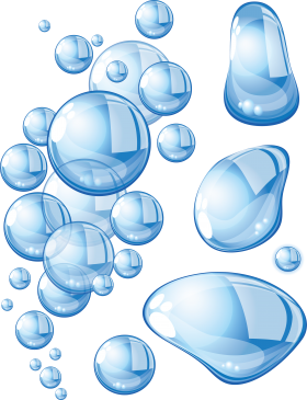 Water Bubbles  PNG