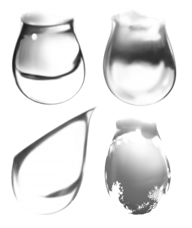 Water. Bubbles  PNG