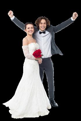 Wedding Couple PNG