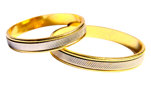Wedding Rings PNG