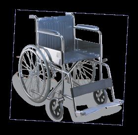 Wheelchair Aluminum PNG