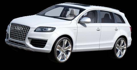 White Audi Car PNG