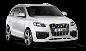White Audi PNG