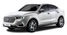 White Borgward BX6 TS Car PNG