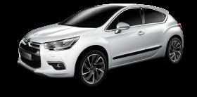 White Citroen DS4 Car PNG
