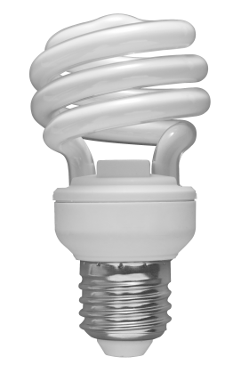 White Day Light Bulb PNG