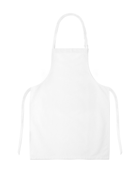 White Full Apron PNG