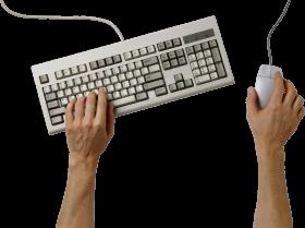 White Keyboard PNG