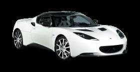 White Lotus Evora Carbon Car PNG