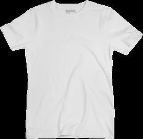 White Men's Polo Shirt PNG