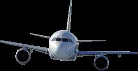 White Plane PNG