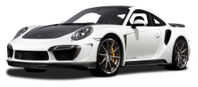 White Porsche 991 Turbo Car PNG