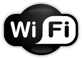 Wifi Icon Black PNG