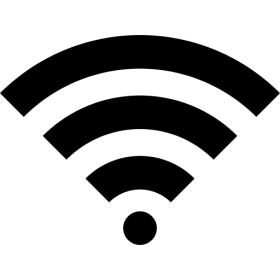 Wifi Icon Black PNG