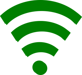 Wifi Icon Green PNG